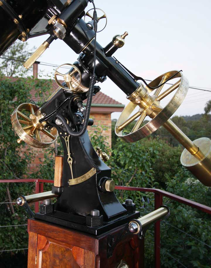 The Victorian equatorial mount